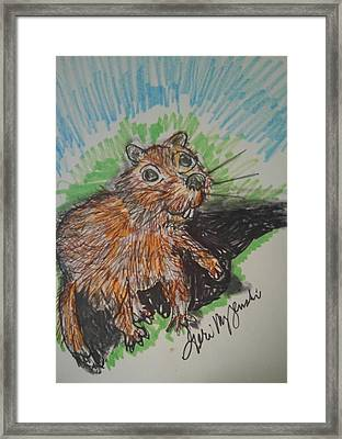 Groundhogs Day Framed Print by Geraldine Myszenski