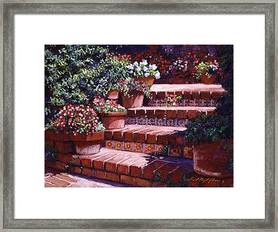 A California Greeting Framed Print by David Lloyd Glover