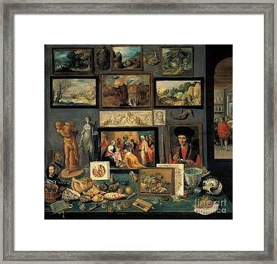 Art And Curio Collection  Framed Print by Celestial Images