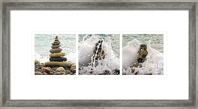 Balance And Energy Framed Print by Stelios Kleanthous
