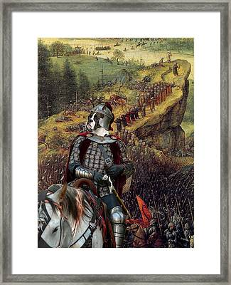 Boxer Art Canvas Print - The Suicide Of Saul Framed Print by Sandra Sij