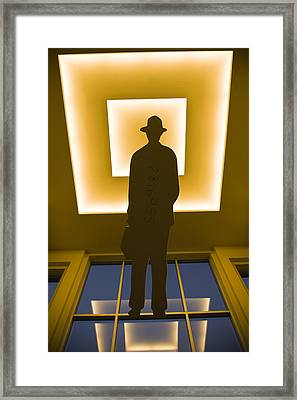 Business Man 2816955 Framed Print by Andrew Kubica