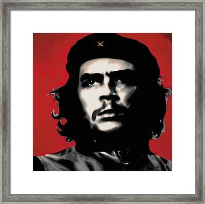 - Che - Framed Print by Luis Ludzska