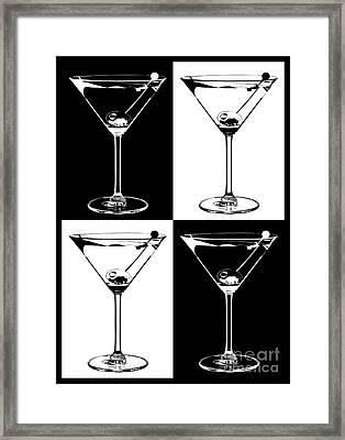 Classic Martini  Framed Print by Jon Neidert