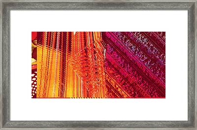 Coming Together Framed Print by Anne-Elizabeth Whiteway