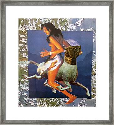 Creative Dialectic Framed Print by Tom Calderon
