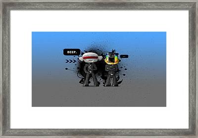 Daft Punk - 210 Framed Print by Jovemini ART