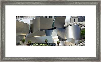 @ Disney Hall, Los Angeles Framed Print by Jim McCullaugh
