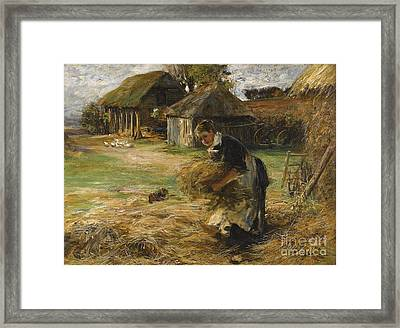 Harvest Time Framed Print by Celestial Images