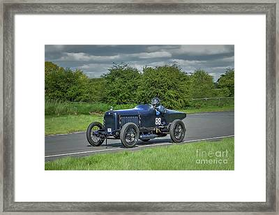 Hudson Super Six Racer Framed Print by Catchavista
