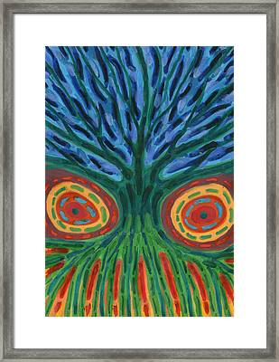 I See You Framed Print by Wojtek Kowalski