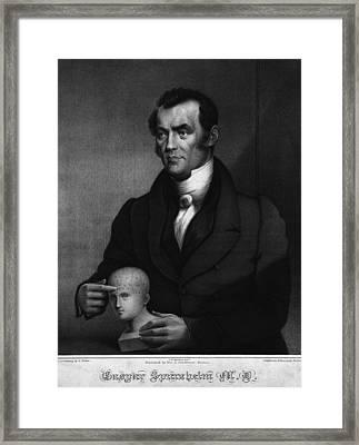 Johann Gaspar Spurzheim 1776-1832 Framed Print by Everett
