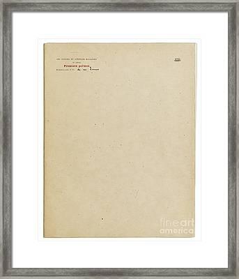 La Revue Independante Framed Print by Les Poesies