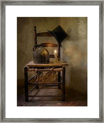 Leerie's Hat Framed Print by Robin-lee Vieira