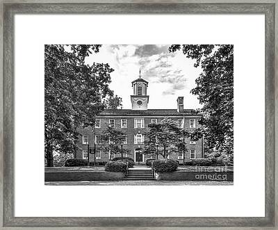 Ohio University Cutler Hall Framed Print by University Icons