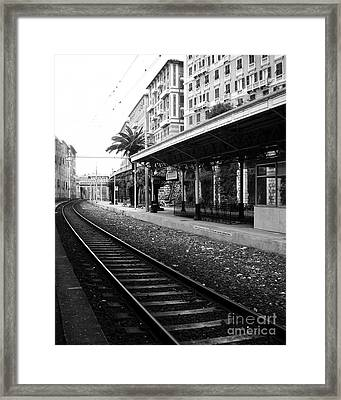 Old World Charm Framed Print by Ivy Ho