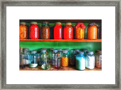 Pantry  Framed Print by Jame Hayes