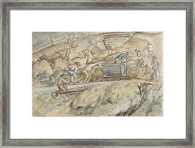 Quarry In Pontresina Framed Print by Celestial Images