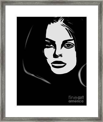 The Eye Catcher Framed Print by Felix Von Altersheim