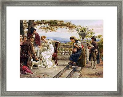 The Musicians Framed Print by George Goodwin