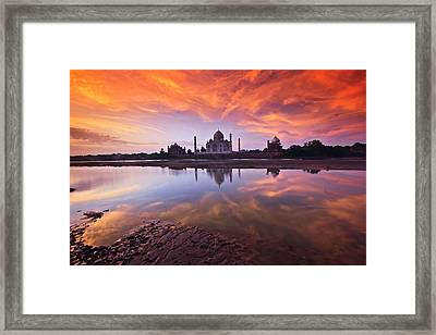 .: The Taj :. Framed Print by Photograph By Ashique