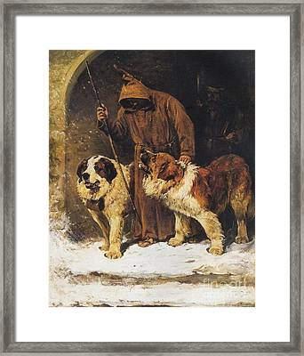 To The Rescue Framed Print by John Emms