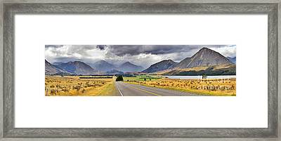 West Coast Road New Zealand Framed Print by Bill  Robinson