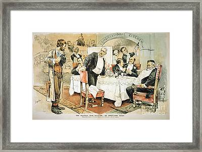 Populist Movement Framed Print by Granger