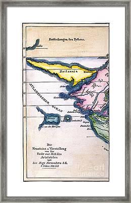 Atlantis: Map, 1831 Framed Print by Granger