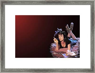 001. Now I Wanna Dance Framed Print by Tam Hazlewood