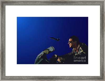 002. The Danger Zone Framed Print by Tam Hazlewood