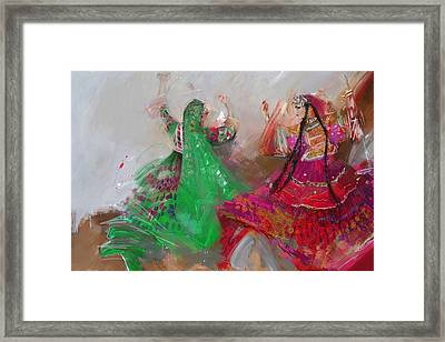 003 Pakhtun B Framed Print by Maryam Mughal