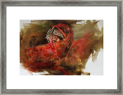 002 Pakhtun B Framed Print by Mahnoor Shah