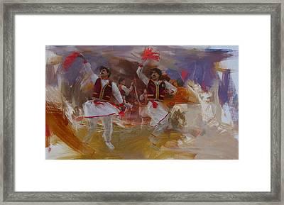 004 Pakhtun B Framed Print by Maryam Mughal