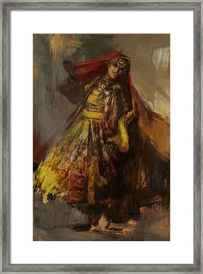 008 Pakhtun B Framed Print by Mahnoor Shah