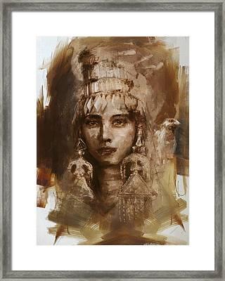 006 Kazakhstan Culture Framed Print by Mahnoor Shah
