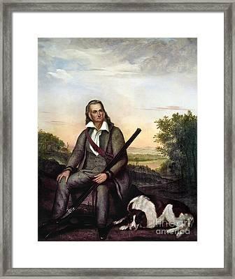 John James Audubon Framed Print by Granger