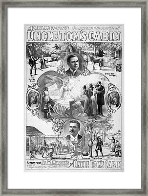 Uncle Tom's Cabin, C1899 Framed Print by Granger