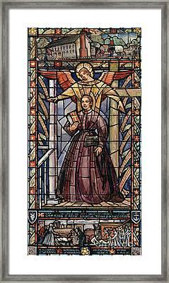 Sally Tompkins (1833-1916) Framed Print by Granger