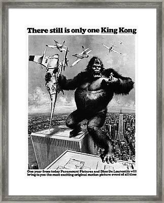 King Kong, 1976 Framed Print by Granger