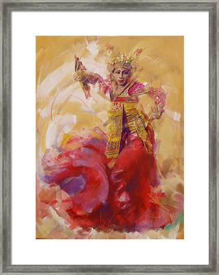 013 Kazakhstan Culture Framed Print by Maryam Mughal
