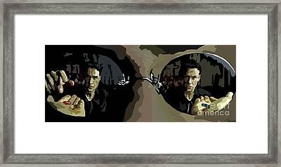 022. How Deep Framed Print by Tam Hazlewood