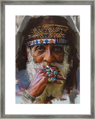 026 Sindh Framed Print by Mahnoor Shah