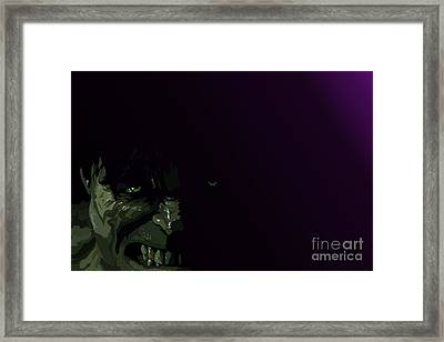 034. You Wouldn Framed Print by Tam Hazlewood