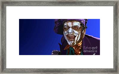 035. Wait Till They Get A Load Of Me Framed Print by Tam Hazlewood