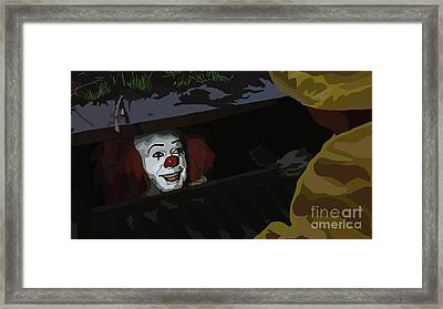 036. They All Float Down Here Framed Print by Tam Hazlewood