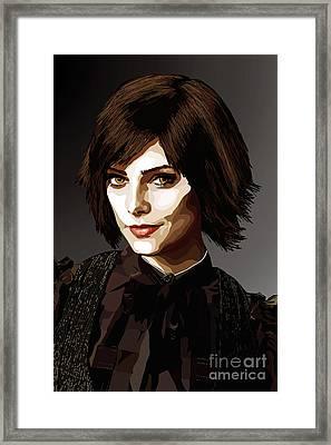 039. It's Time Framed Print by Tam Hazlewood