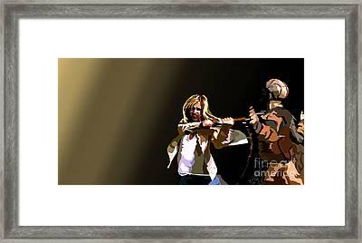 047. Control Framed Print by Tam Hazlewood