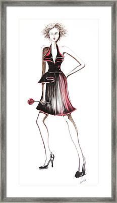 06 Framed Print by Malusa  Pinto