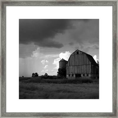 08016 Framed Print by Jeffrey Freund
